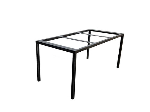 Industrial Parsons Table, Thin Parsons Table, Modern Parsons Table, Custom Console Table, Metal Table Base, Industrial Table