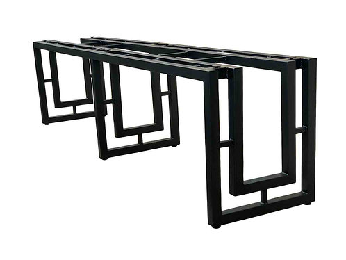 Metal Dining Table Base | Art Deco Table Base | Hollywood
