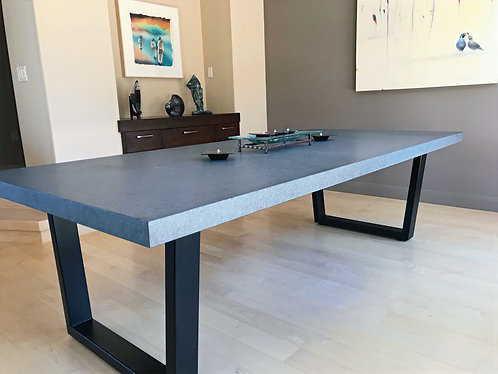 Trapezoid Metal Table Base | Minimalist Table Base or Desk