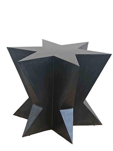 Geometric Table Pedestal, Elegant Pedestal Table, Modern Dining Table for Glass, Pedestal For Glass, Modern Dining Table Base