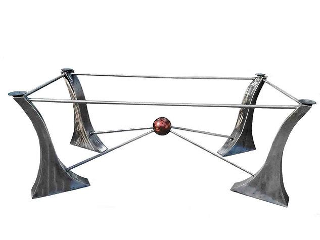 Designer Metal Table Base