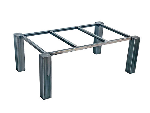 "Metal Coffee Table Base   Coffee Table Legs   4"" Offset"