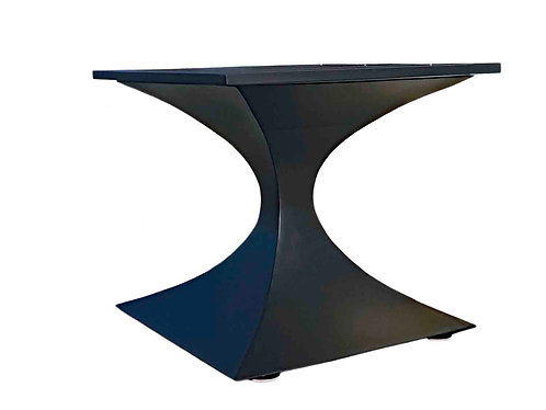 Custom Dining Table, Minimalist Dining Table, Custom Metal Table Base, Custom Pedestal Table Base, High End Dining Table Base