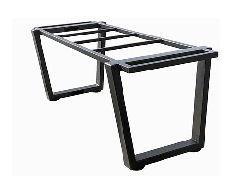 Trapezoid Metal Table Base | Conference Table or Dining Table Base