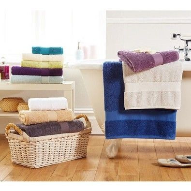 various sizes and colours of towels for perth bathrooms