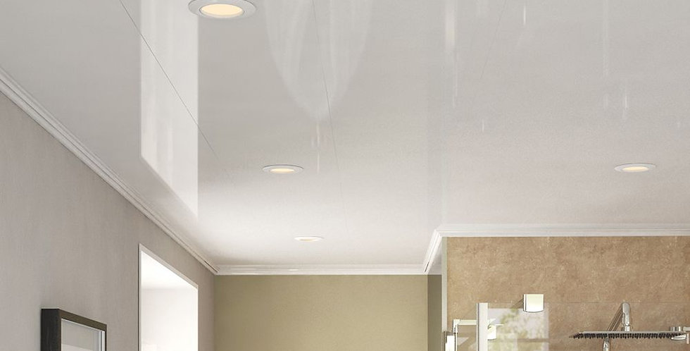 Ceiling Panels |                                      White Gloss - 2700x250x5mm