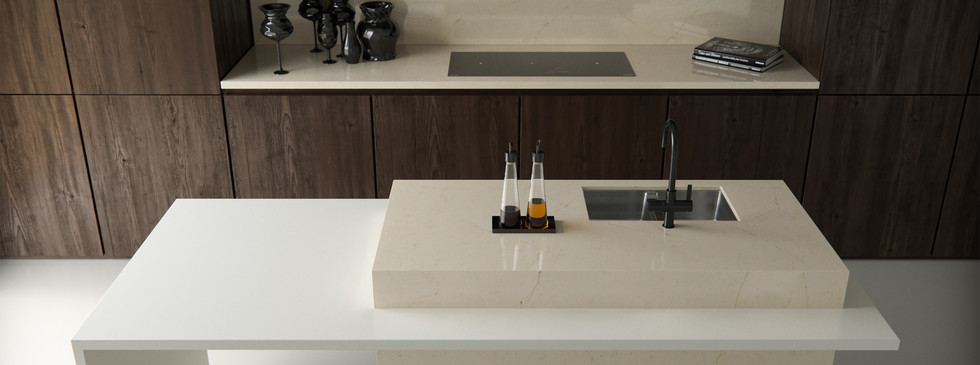 Silestone Kitchen EU - Eternal Marfil