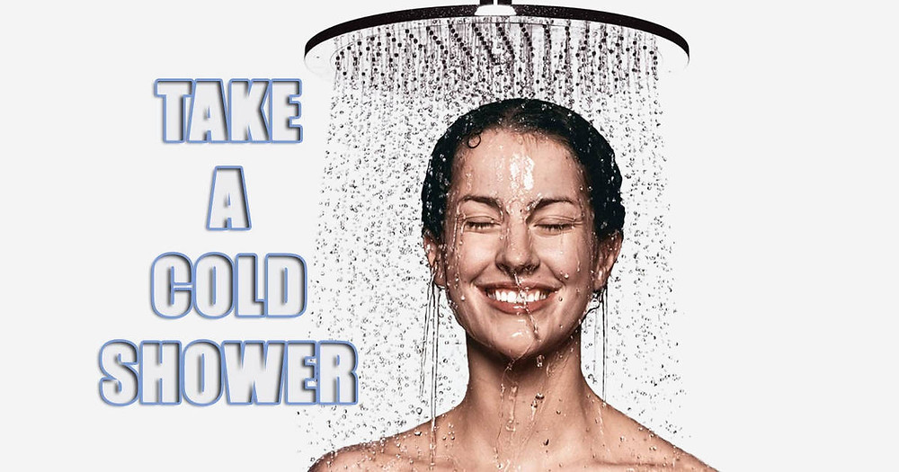 woman taking a cold shower after a mr Wet Wall Bathroom Renovation Perth