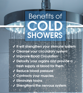 Benefits of a cold shower Mr Wet Wall