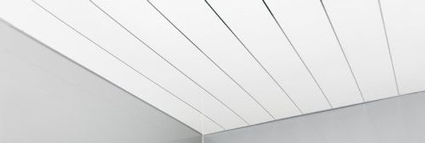 Ceiling Panels |                                White Gloss with Chrome - 2700