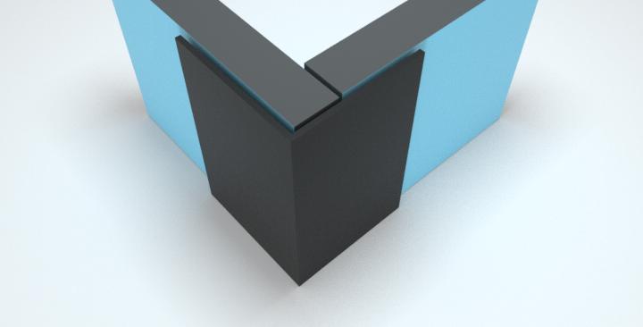 25x25mm L Angle External Corner