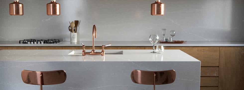Silestone Kitchen - Desert Silver