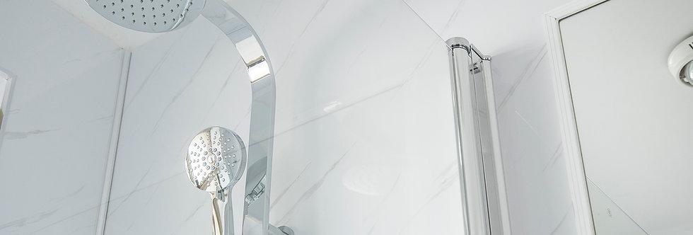 Wall Panels | 2m Carrara White Marble MATT