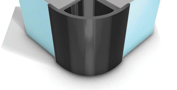 10mm External Trim - Wet Wall