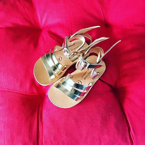 """Sandals for kids - Greek Leather sandals """"Hermes"""""""