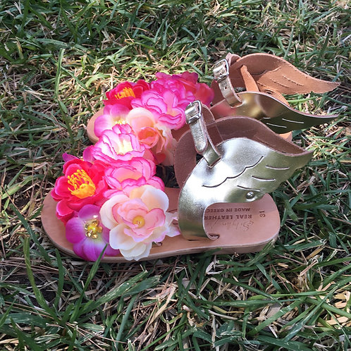 "Sandals for kids with flowers ""SERENA"""