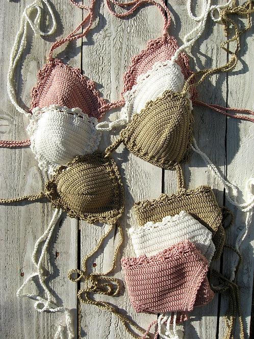 """Handmade crochet Bikini - """"Philomena"""""""
