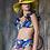 """Thumbnail: Original Panama Hand Painted Hat - """"Salinas"""""""