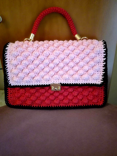 "Bubbles crochet bag - ""AGNES"""