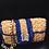 "Thumbnail: Raffia Shoulder Bag, Sand-Beige ""Seahorse"""