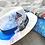 Thumbnail: Hand Painted Panama Hat - Mykonos