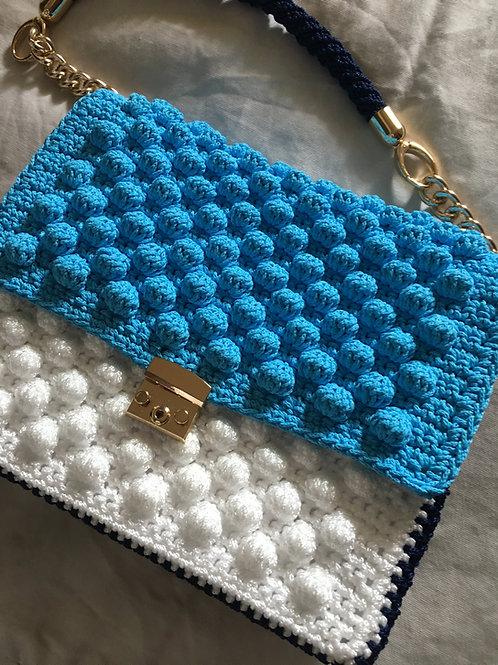 "Bubbles crochet bag - ""AGNES"""