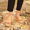 "Thumbnail: Gladiator Flatforms Laced up  Leather Wedges "" APHAIA"""