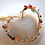 Thumbnail: Gem wrapped pendant - My heart blooms