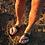 "Thumbnail: Leather slide in sandals ""Oceanus"""