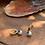 "Thumbnail: Cubic Zirconia Gold plated earrings ""MATI"""