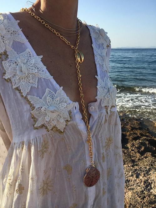"""Seashell necklace """"Mirto"""""""