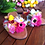 Thumbnail: Greek Leather sandals - Blossom