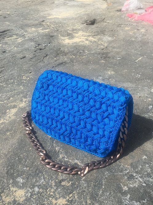 Crochet Handwoven Crossbody Bag  - CLOTHO