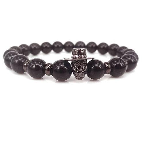 Black Onyx unisex bracelet - Jocker