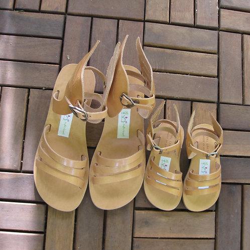 Hermes Wedges Mommie & Me - greek leather sandals