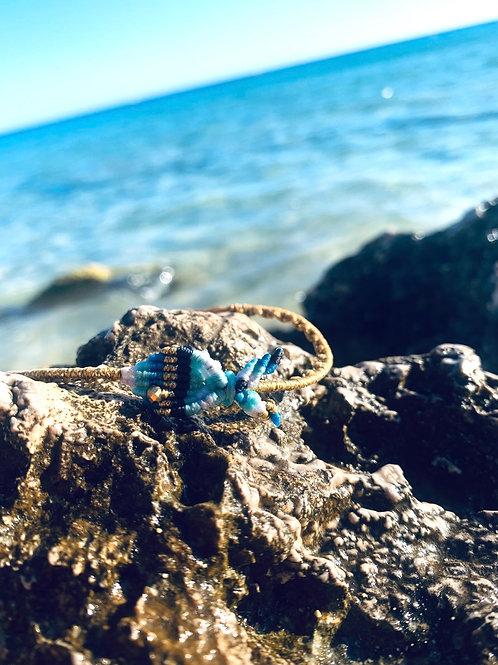 Macrame Woven Fish bracelet - Fish