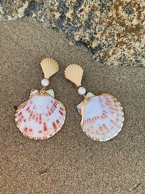 "Seashell earrings ""Mirto II"""