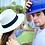 "Thumbnail: Original Panama Hat - Unisex - ""Milagro"""
