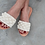 "Thumbnail: Leather sandals crochet- ""Bubbly"""