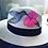 "Thumbnail: Original Panama Hand Painted Hat  - ""Mocking Bird"""