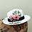 "Thumbnail: Hand Painted Panama Hat - ""Poppies"""