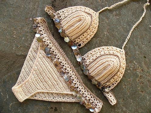 "Handmade crochet Bikini - ""Lola"""