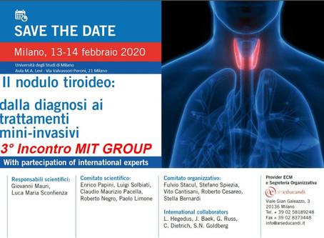 """3° Incontro """"MITT GROUP""""             Milano, 13-14 febbraio 2020"""