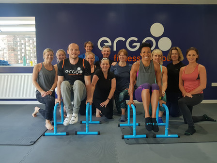Dame Kelly Holmes comes to Ergo Fitness in Reigate