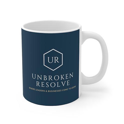 Unbroken Resolve 11oz Mug