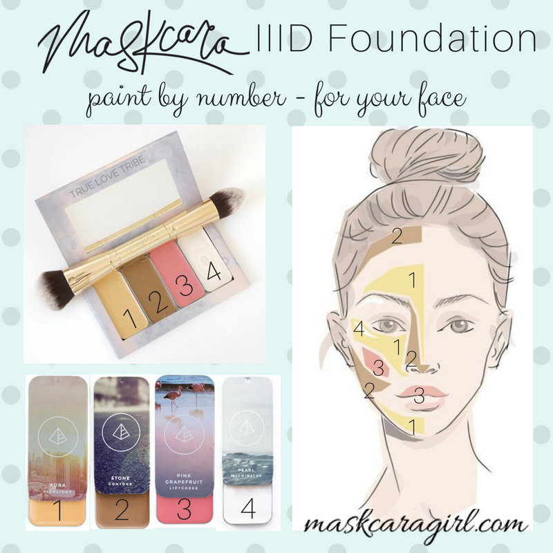 How to Apply Maskcara Beauty 3D Foundation