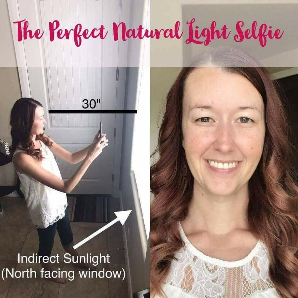 Take the perfect natural light selfie