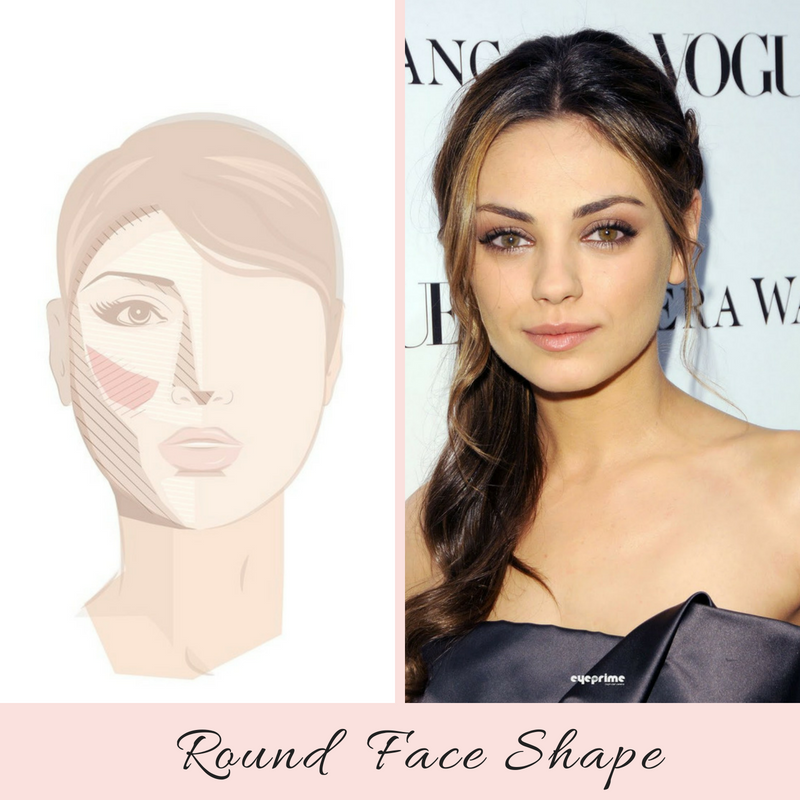 How to Highlight and Contour a Round Face Shape