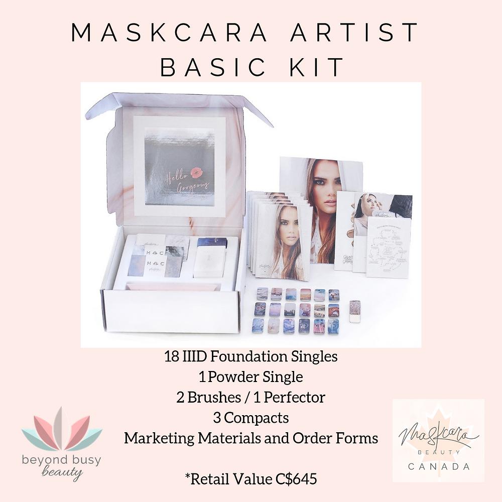 Maskcara Beauty Canada Artist Kit