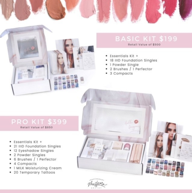 Seint (formerly Maskcara Beauty) Independent Artist Kits